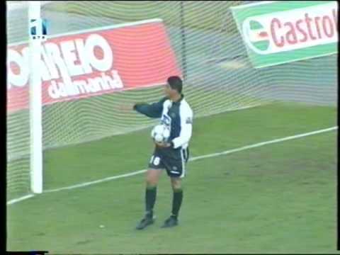 Sporting - 3 x Vilanovense - 1 de 2001/2002 Taça de Portugal 4Elim