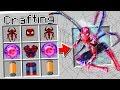 CRAFTING SPIDER MAN IN MINECRAFT?!