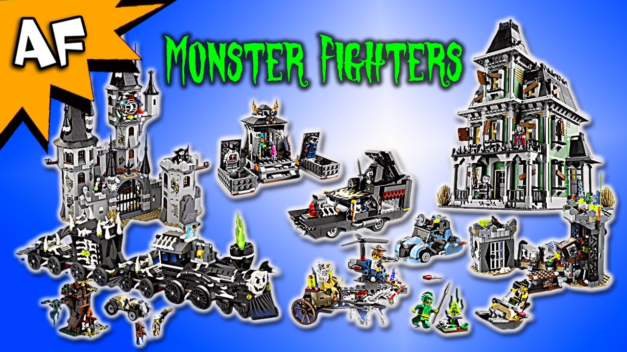 every lego monster fighters set complete collection - Lego Monstre