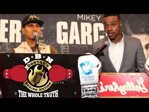 BREAKING !! ERROL SPENCE VS MIKEY GARCIA MARCH 16TH IN TEXAS IS TARGETED