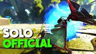 HE WAS CRYOING LVL 300+ TAME! - Solo Official Small Tribe | ARK: Survival Evolved S2.Ep1