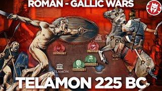 Battle of Telamon 225 BC - Roman–Gallic wars DOCUMENTARY