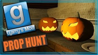 Garry's Mod Prop Hunt Funny Moments Halloween Edition! - Tricking Nogla, Spooky House, and Bicycles!