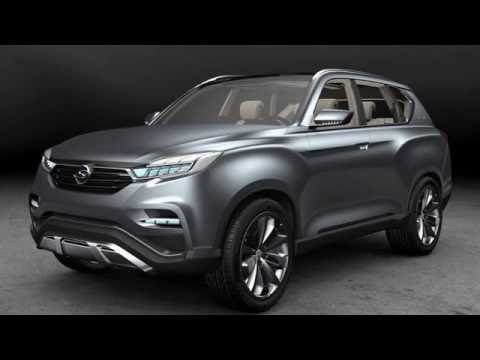 2017 ssangyong y400 rexton and siv2 youtube. Black Bedroom Furniture Sets. Home Design Ideas