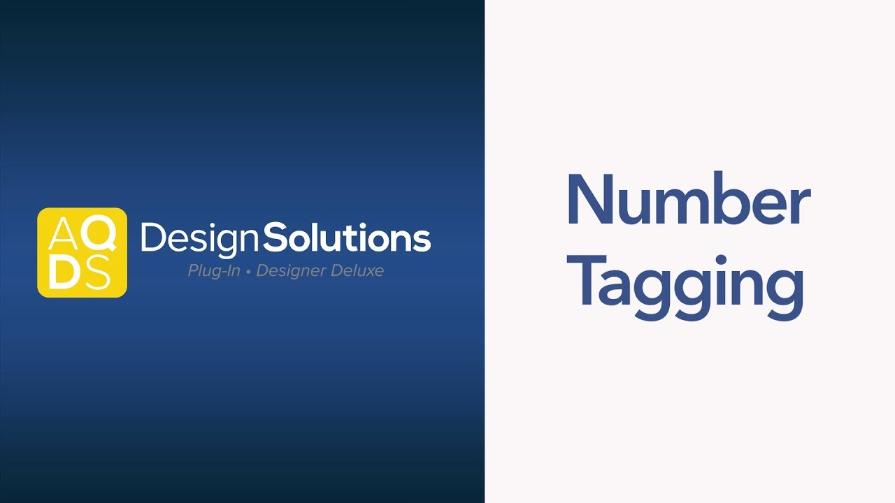 AQ Design Solutions – Number Tagging