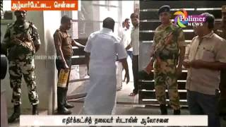 MK Stalin, in his house, is in consultation with senior executives, including Duraimurukan