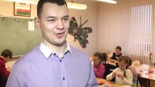 2017-03-17 г. Брест. Кружок по плетению из проволоки. Новости на Буг-ТВ.