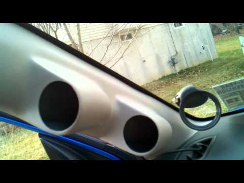 2008 + WRX A-Pillar pod - Installation