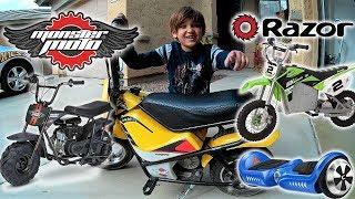 Ride On Toys Madness Monster Moto E250 Mini Bike Review