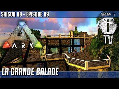 BALADE A DOS DE LICORNE MYTHIC  - Ark MOD FR - ISO Crystal Isles - S8-09
