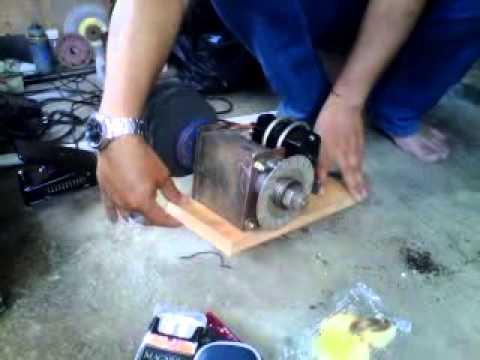 Cara Bongkar Mesin Pompa Air Ambil Dynamo Bisa DIpake