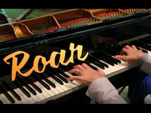 Roar - Katy Perry - 🐅  piano cover play by ear by Jazzy Fabbry