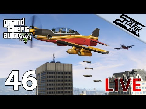 GTA 5 - 46.Rész (Smuggler's run dlc / Hangár, Vadászgépek, Helikopterek...) - Stark LIVE