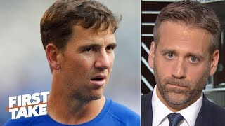 Asking the Giants for a trade would tarnish Eli Manning's legacy - Max Kellerman | First Take