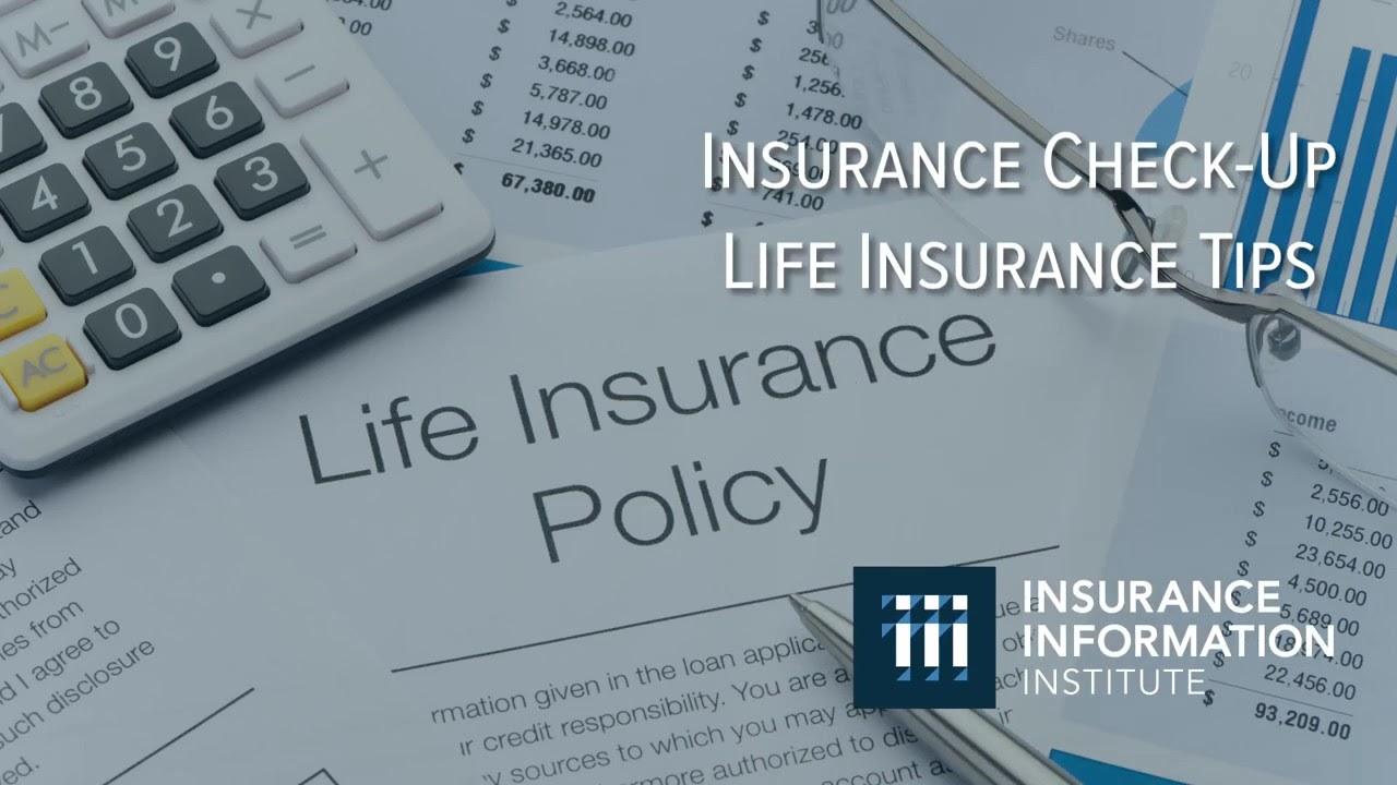 Insurance Check Up: Life Insurance - YouTube