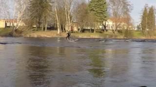 River SUP in Joensuu Finland
