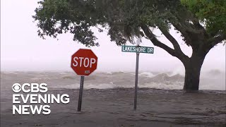 Tropical Storm Barry brings flash floods to Louisiana