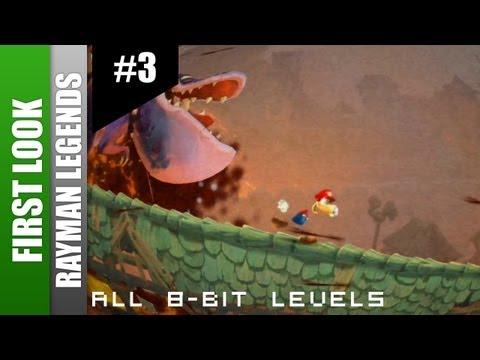Rayman Legends - All 8-Bit Music Levels