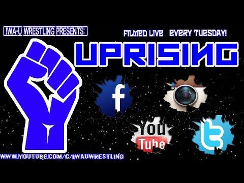 IWAU Uprising Ep. 23 -Pro Wrestling-Independent Wrestling-IWA-IWAU-DEFEND INDY WRESTLING-CZW-TNA-ROH