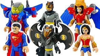 Justice League Batman, Superman, Wonder Woman battle armor! | DuDuPopTOY