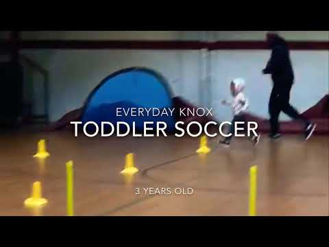 Toddler 3 Years Old Soccer Training