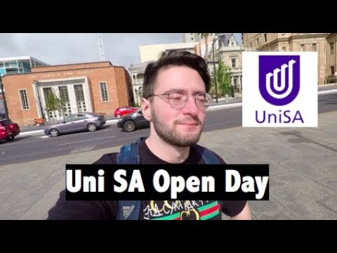 University Of South Australia Open Day 2018 - Vlog