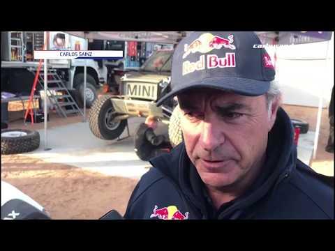 Carlos Sainz mantiene la cautela en el Dakar 2020