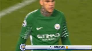 Ederson Fight With Sadio Mane - Man City vs Liverpool 10th April 2018