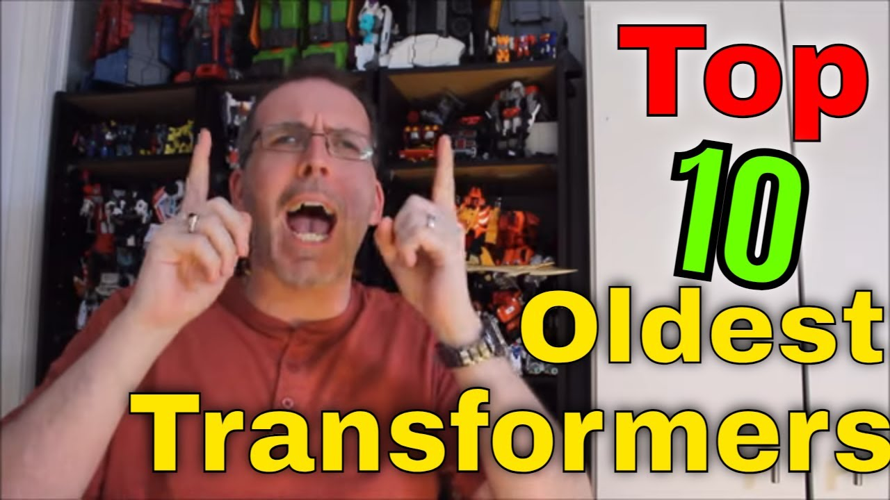 GotBot Counts Down: Top 10 Oldest Transformers