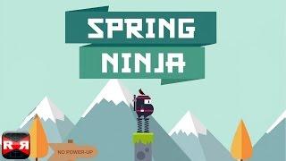 Spring Ninja (By Ketchapp) - iOS / Android - Gameplay Video