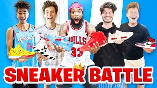 2Hype Sneaker Battle! Who Is The Sneaker King?!