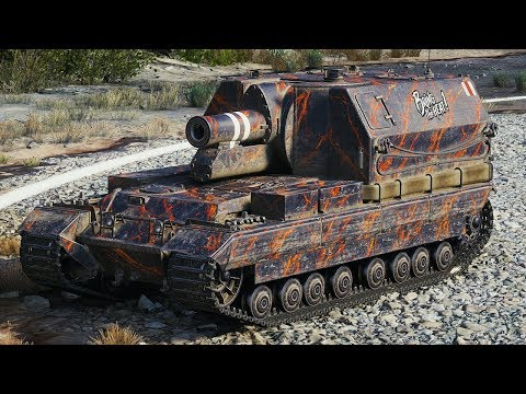 World of Tanks Conqueror Gun Carriage - 2 Kills 10,8K Damage