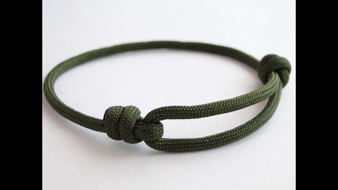 How To Make A Simple Single Strand Friendship Bracelet