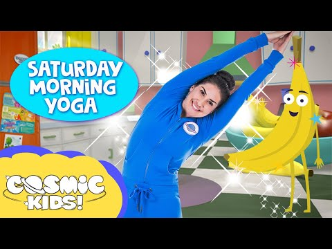 Making Wishes: Saturday Morning Yoga ✨ | Cosmic Kids