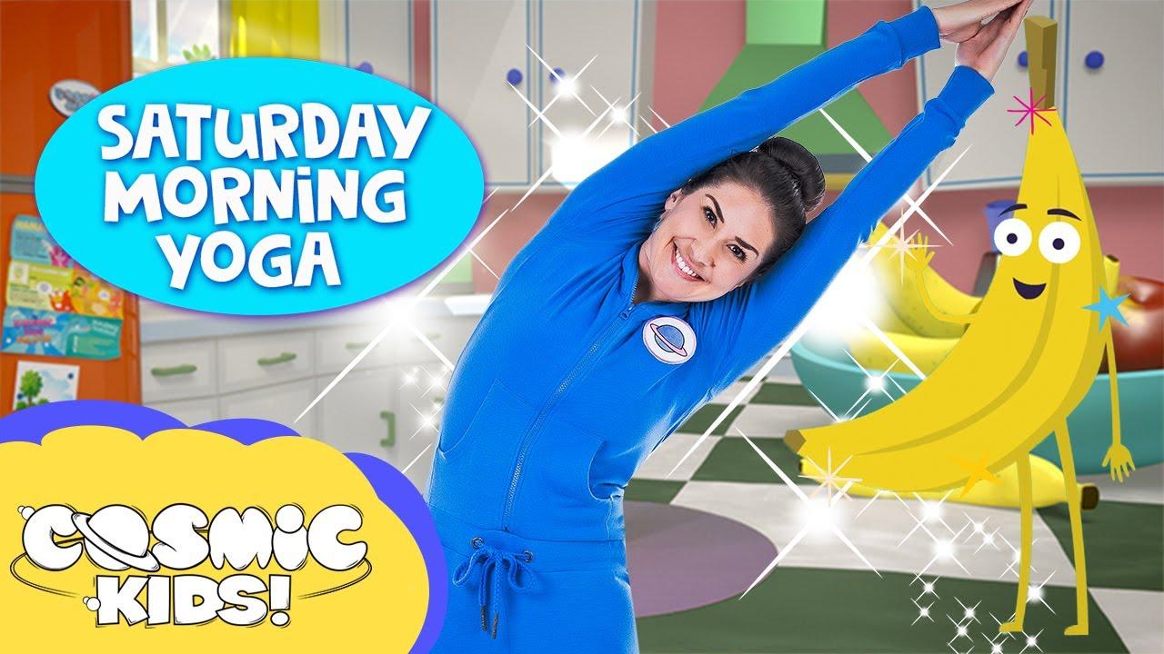 Making Wishes: Saturday Morning Yoga ✨ | Cosmic Kids - YouTube