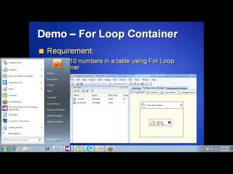 SSIS Part13 - Containers and Move Files with TimeStamp