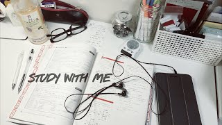 (no music)STUDY WITH ME | 14:30-18:00 thumbnail