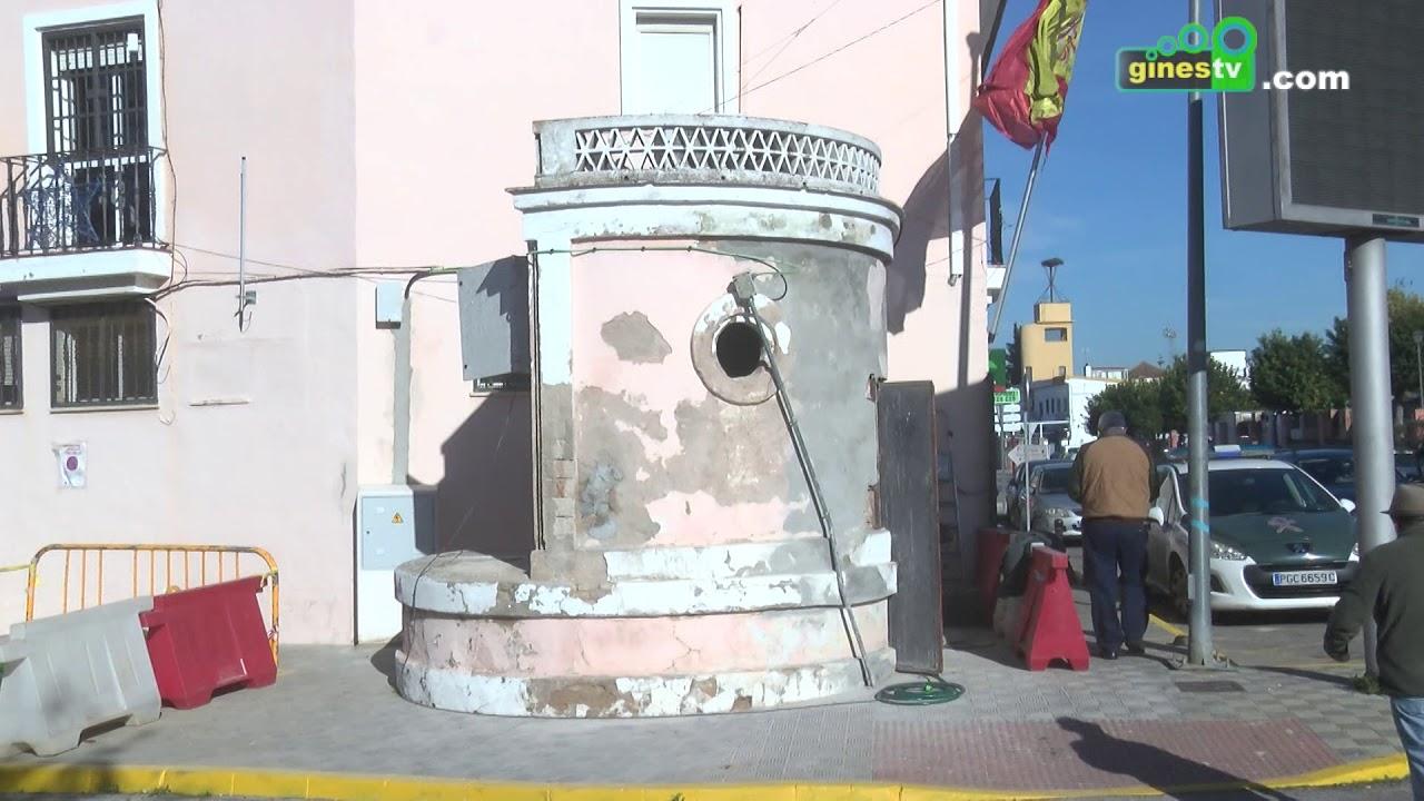 Mejoras en el pozo de la calle Colón gracias al superávit de las cuentas municipales