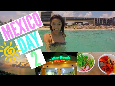 Mexico Vacation Day 2!!    Exploring Playa Del Carmen
