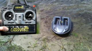 видео Эхолот Carpboat Fish Finder FD500. Купить эхолот Carpboat Fish Finder FD500