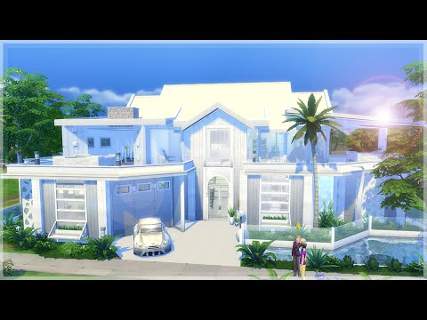 The Sims 4 Speed Build - Dillan's Modern Beach Home