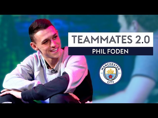 Which Man City player dresses 'like a schoolboy'?! | Phil Foden | Manchester City Teammates 2.0