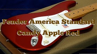 Fender America Standard Candy Apple Red - Turbo Guitar #116