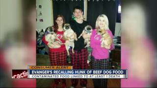 Evanger's dog, cat food recalled due to possible sickness, death