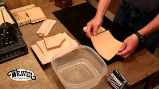 The Leather Element: Węt Molding Leather