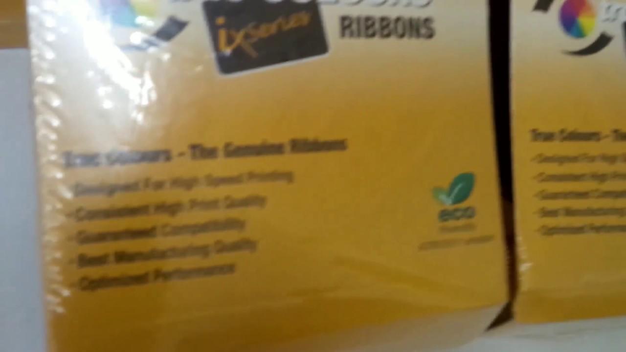 ZEBRA ZXP 3 Series - Color Ribbon - YouTube a74c958d3