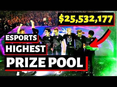 10 Highest Prize Pool In Esports | Fortnite, DOTA 2, League Of Legends