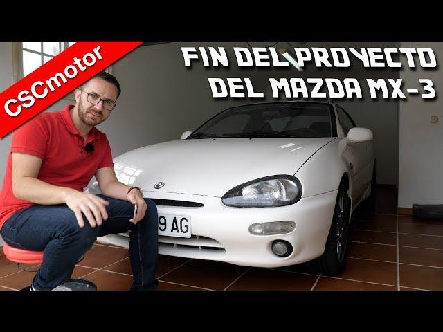 Fin del proyecto del Mazda MX-3