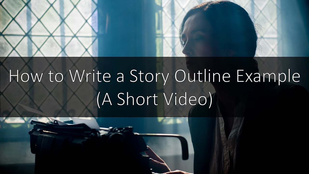 how to outline a short story example