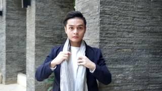 Как стильно завязать мужской шарф 11 способов